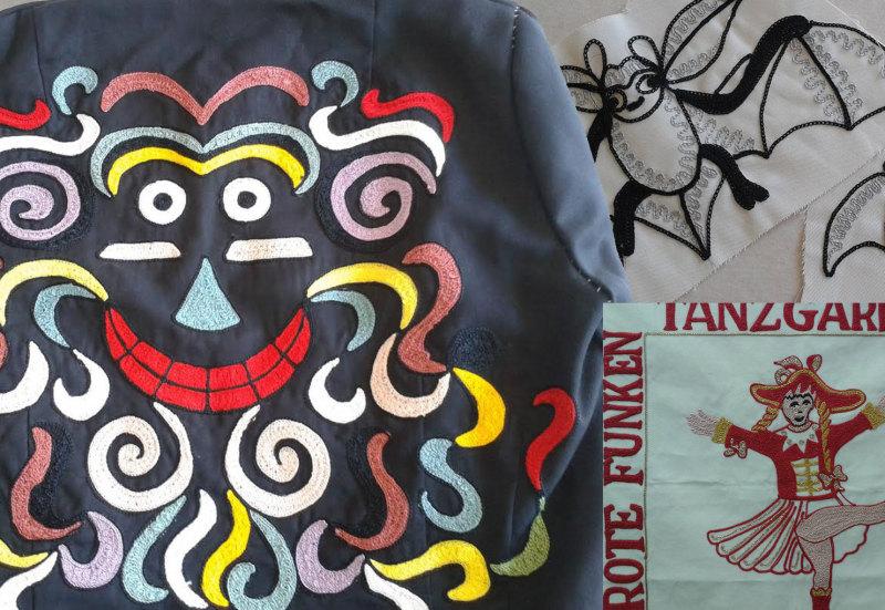 Karneval und Fasnet Stickerei Bauschatz