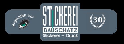 Logo Stickerei Bauschatz Ravensburg